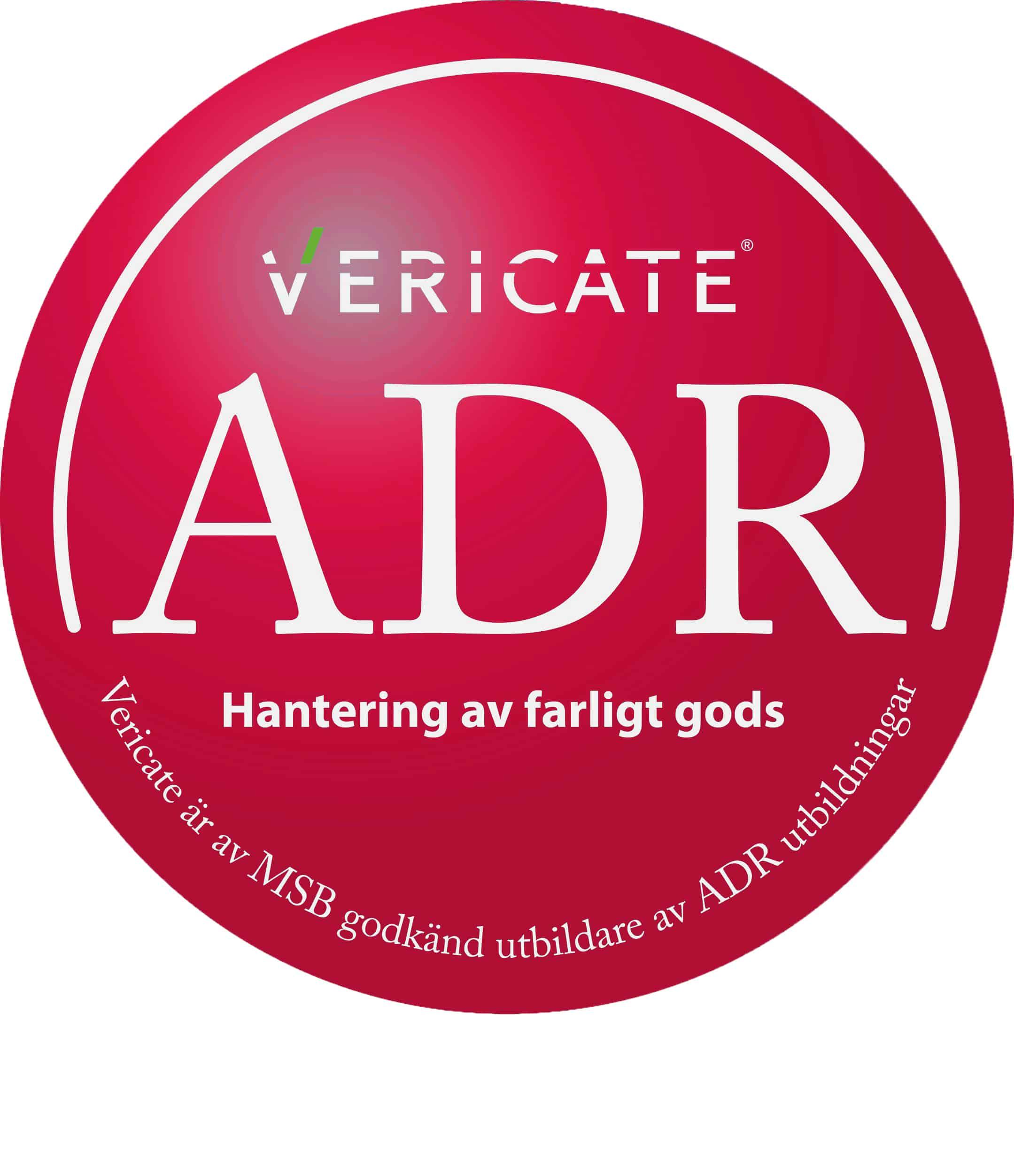 ADR Grundutbildning Vericate