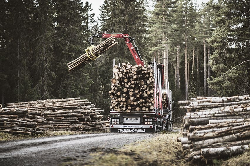 Yrkesförare transport